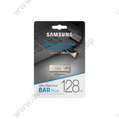 SAMSUNG BAR PLUS USB 3.1 PENDRIVE 128GB EZÜST