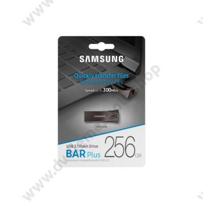 SAMSUNG BAR PLUS USB 3.1 PENDRIVE 256GB SZÜRKE