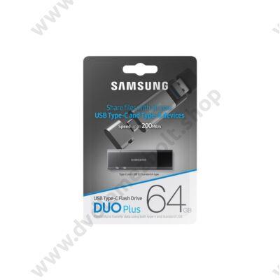 SAMSUNG DUO PLUS USB TYPE-C/USB 3.1 PENDRIVE 64GB