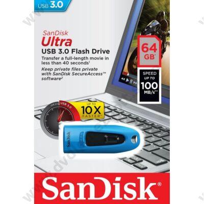 SANDISK USB 3.0 ULTRA PENDRIVE 64GB KÉK