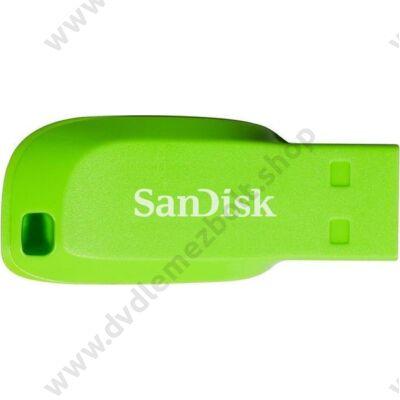 SANDISK USB 2.0 CRUZER BLADE PENDRIVE 64GB ZÖLD