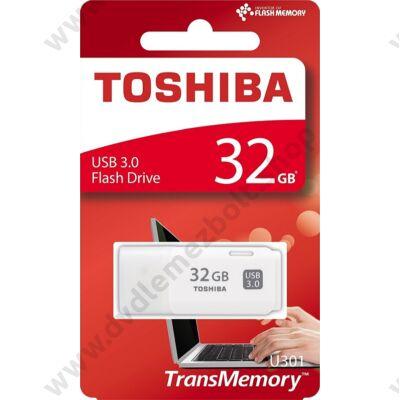 TOSHIBA U301 USB 3.0 PENDRIVE 32GB FEHÉR