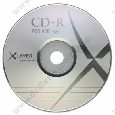 XLAYER CD-R 52X SHRINK (50)