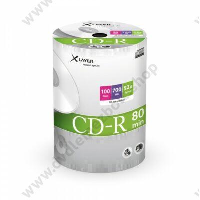 XLAYER CD-R 52X SHRINK (100)