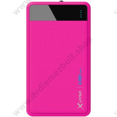 XLAYER COLOUR LINE POWERBANK 4.000 mAh PINK